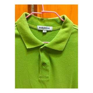 Baleno綠色polo衫