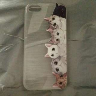 IPHONE 5s Casing - Cats