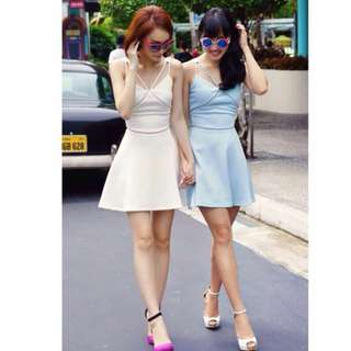TCL Reminiscence Dress Blue & Pink