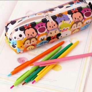 Tsumtsum 迪士尼 鉛筆盒 疊疊樂