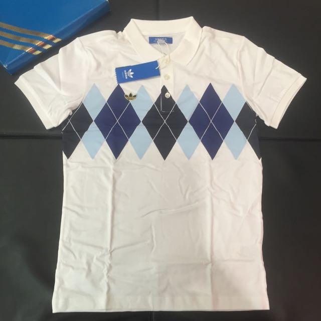 全新 40週年限量 Adidas Originals 學院POLO衫 S