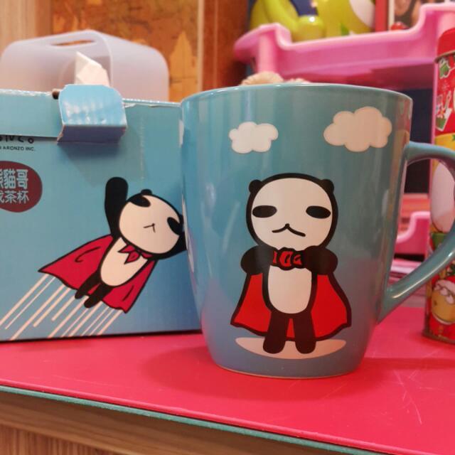 阿朗基熊貓哥杯子
