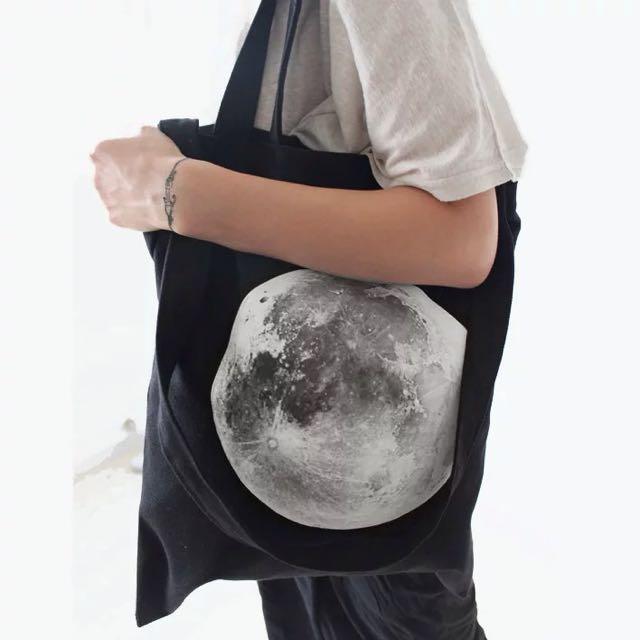 月球包包帆布🌚🌚