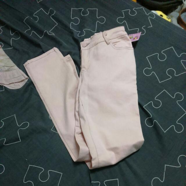 粉紅牛仔褲
