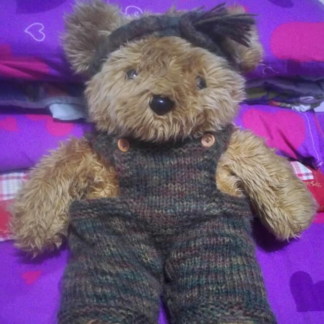 二手手工編織毛衣熊熊