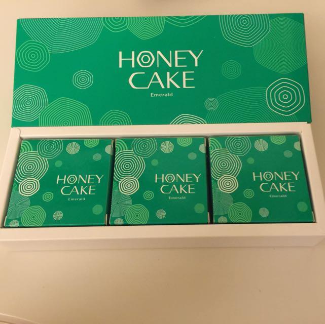 翠綠蜂蜜香皂 三件一組
