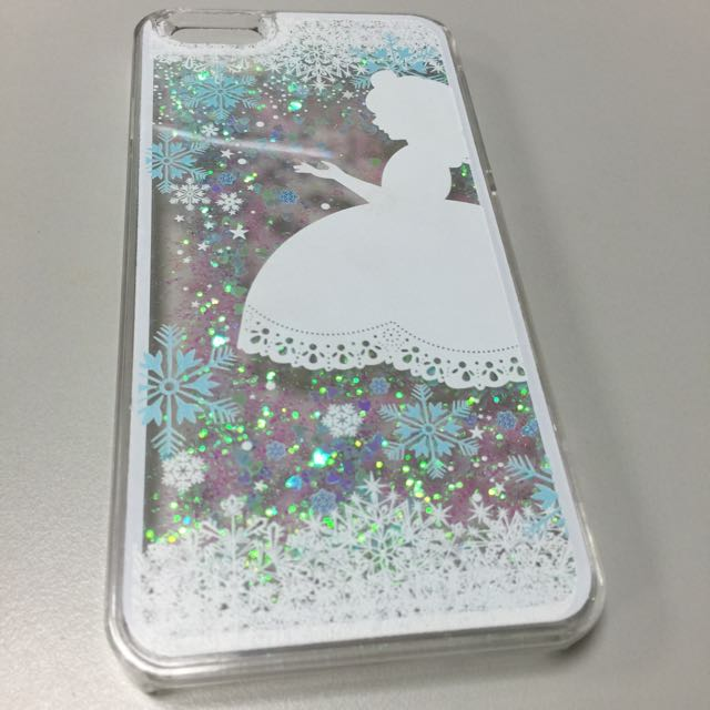 液體愛心流沙 公主 iPhone 6 PULS 硬殼 手機殼