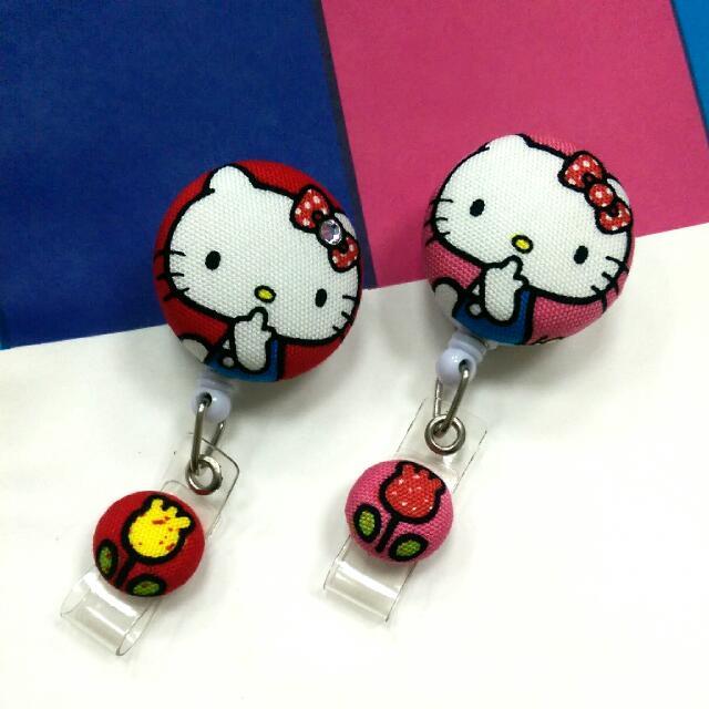 (全新) Hello Kitty 凱蒂貓 證件吊夾