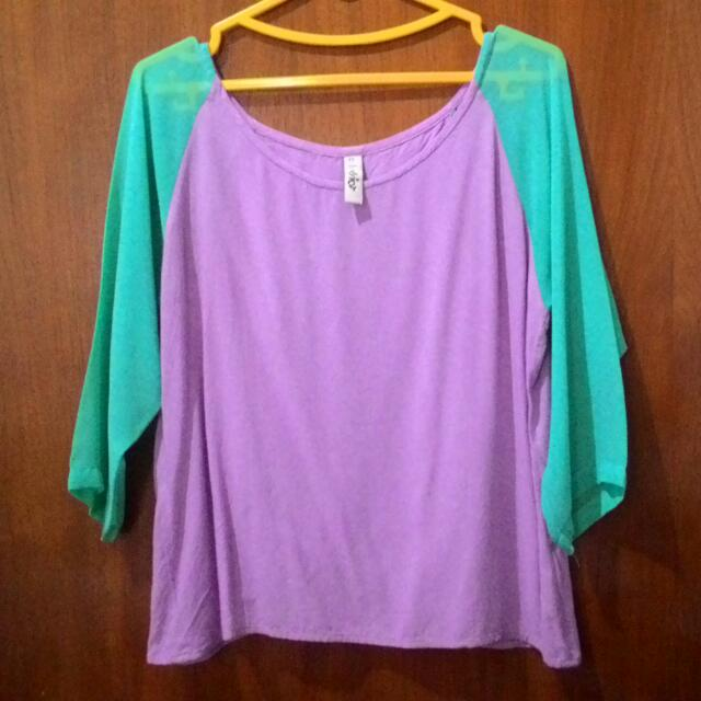 Coloriot Blouse with Back Detail