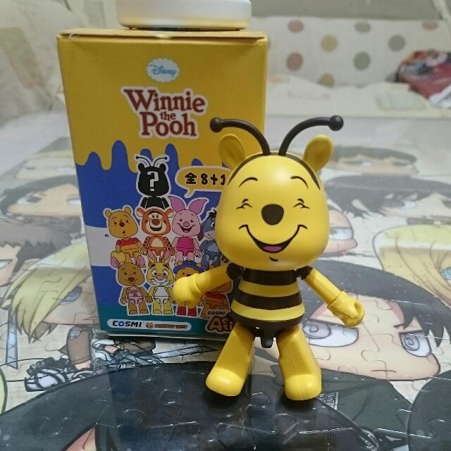 COSMI 維尼家族系列-蜜蜂維尼隱藏版