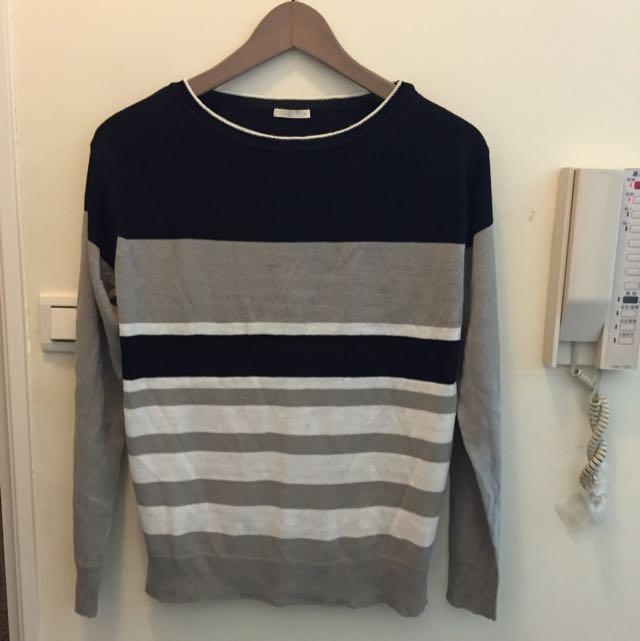 日本GU購回的針織衫