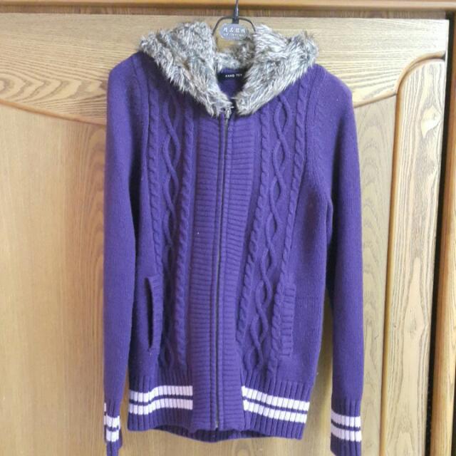 HANG TEN 針織羊毛外套(含運)