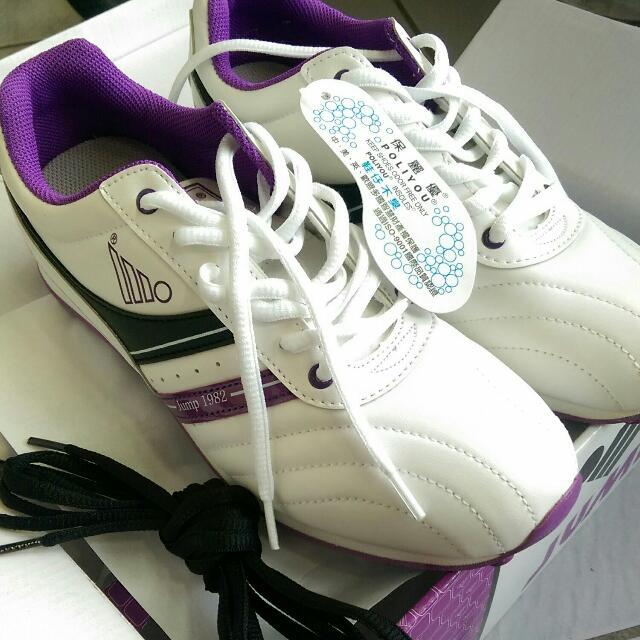 ⬇降~Jump㊣平價休閒鞋(白紫 好搭)