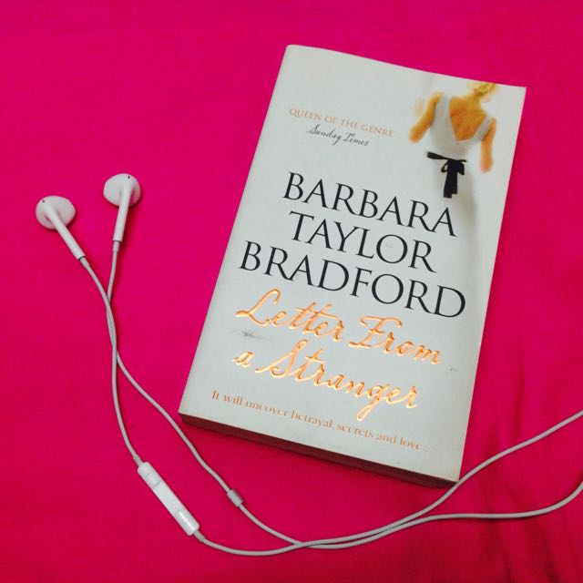 Letter From A Stranger By Barbara Taylor Bradford Books