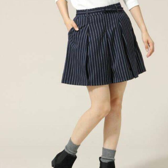 日系品牌Lowrys Farm條紋褲裙