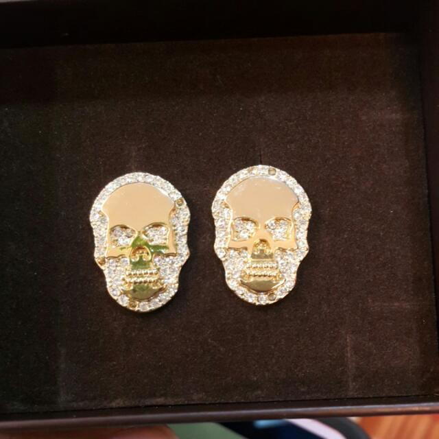 Lucy's骷髏頭耳環