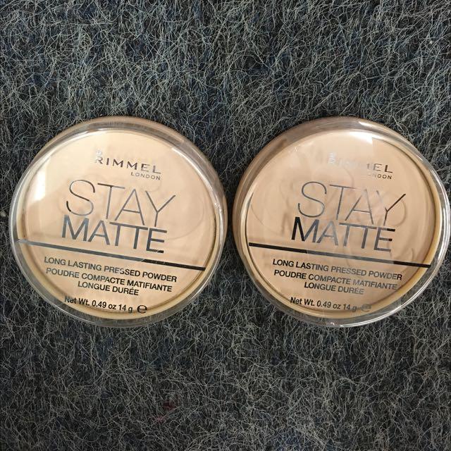 💡現貨Rimmel Stay Matte Pressed Powder