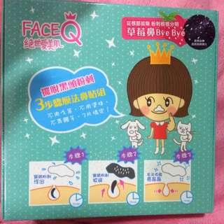絕世愛美肌 Face Q 3步驟膜法鼻貼組