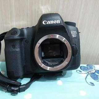 Canon 6D body 單機身  彩虹公司貨 過保