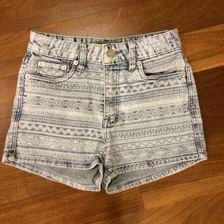 ROMP Aztec Highwaist Shorts