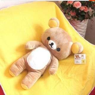 ♡拉拉熊-抱枕+毯子♡