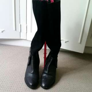 Alannah Hill Knee High Boots
