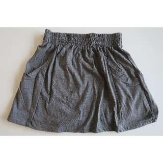 Cotton On - Grey Skater Skirt