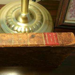 Antiquarian Leather Bound Book: History Of Reformation Of England