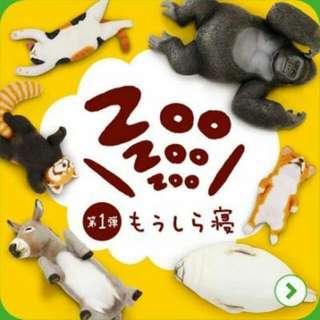 休眠動物園 第一彈 貓咪 扭蛋 轉蛋