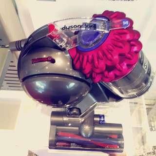 《特價》戴森Dyson motorhead 電動吸塵器 DC63 Turbinehead 圓筒式吸塵器(桃紅)