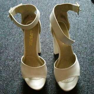 Lipstick Platform Heels