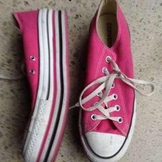 Platform Pink Converse