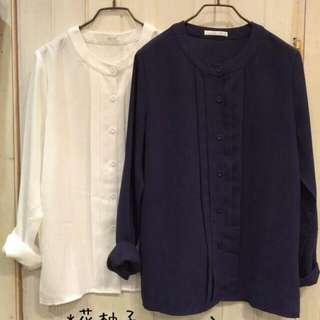 (待匯)全新雪紡襯衫(白色)