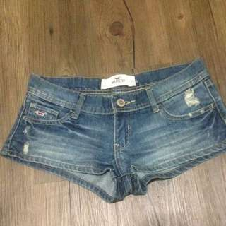 Hollister正品25腰牛仔短褲