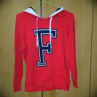 Fourskin Red Hoodie