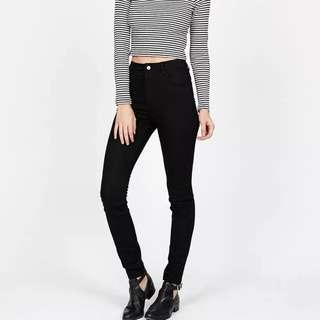 Wrangler Black Jeans Size 6 - New