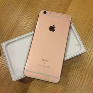 iPhone 6S Plus 64GB 玫瑰金 現貨