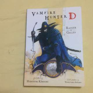 Vampire Hunter D Light Novel Vol. 2 Raiser Of Gales By Hideyuki Kikuchi