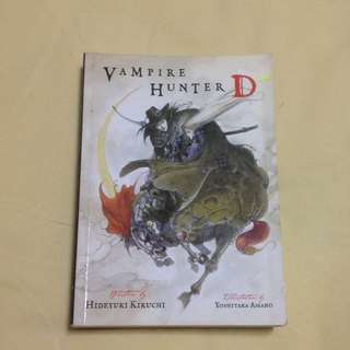 Vampire Hunter D Light Novel Vol. 1 By Hideyuki Kikuchi