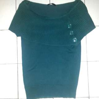 Ashley New Classic Semi-knitted Short Sleeve Top