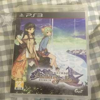 PS3 夏莉的鍊金工坊 黃昏海洋之鍊金術士 中文版