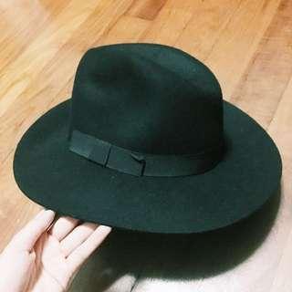 Stylish Black Floppy Felt Material Hat