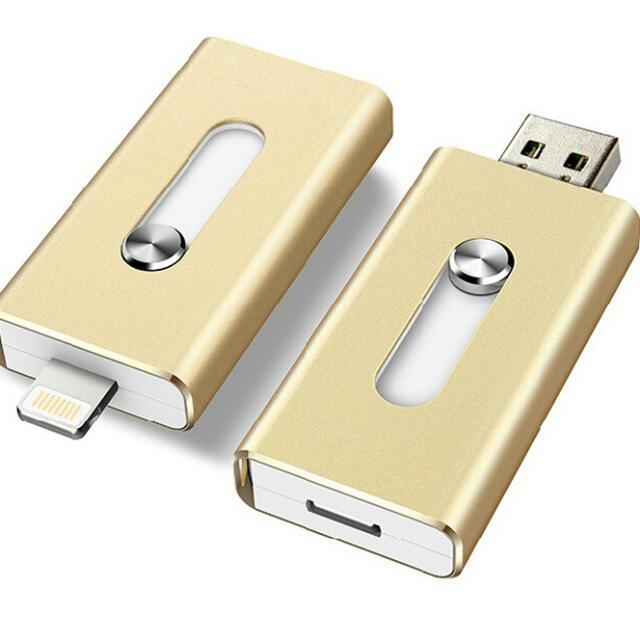 【I phone隨身碟】32G手機電腦兩用隨身碟 免安裝 適用32G記憶卡 OTG 蘋果電池 手機隨身碟 APPLE