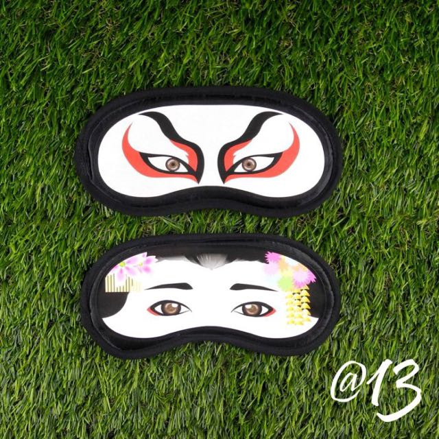 🇯🇵日本帶回造型眼罩藝妓情侶款