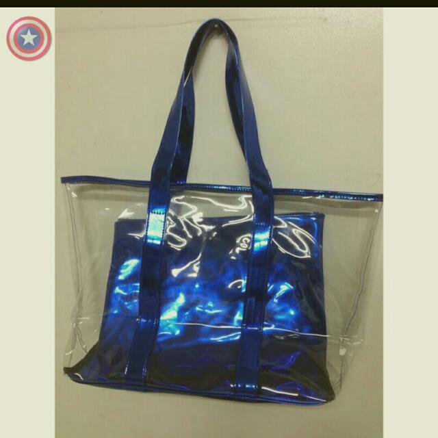 寶藍色大方包