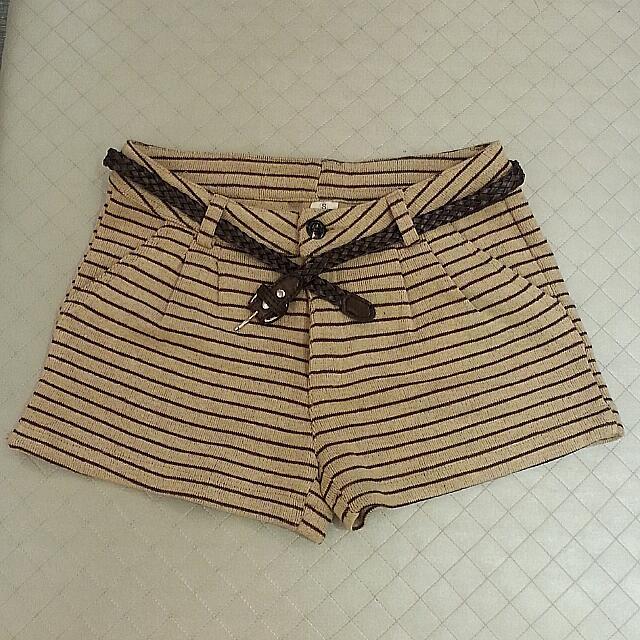 二手  線條短褲
