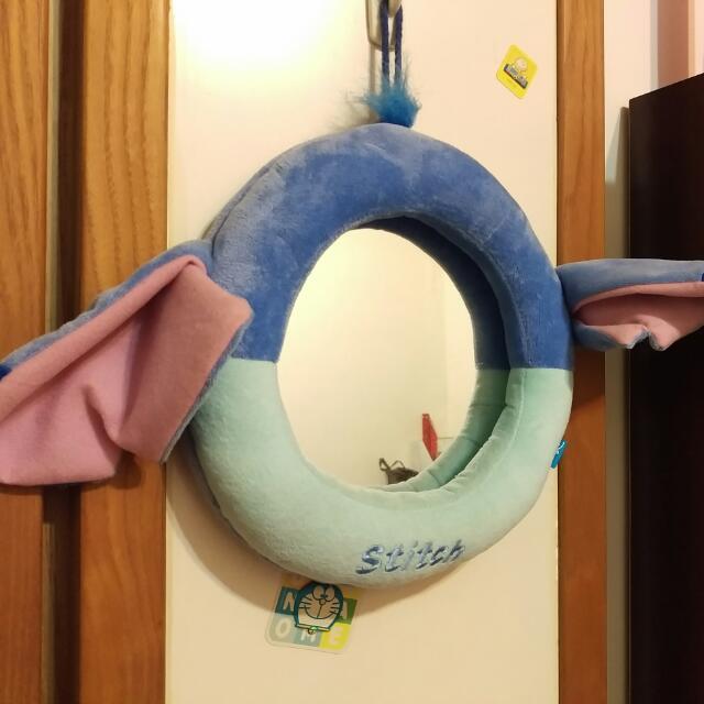 可愛史迪奇 大圓鏡 鏡子