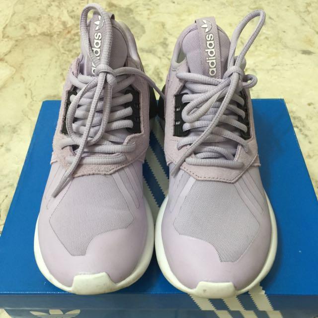 (待匯款)Adidas tubular 紫