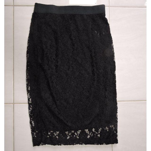 Black Lace Skirt Size 10