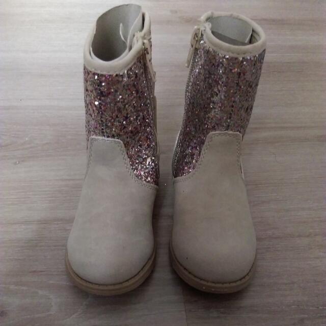 Carter's女童中長靴